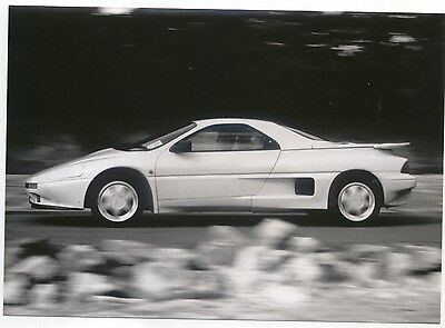 Panther Solo side view being driven original Press Photograph circa late 1980s