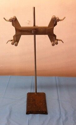 Lab Support Stand with Double Burette Clamp