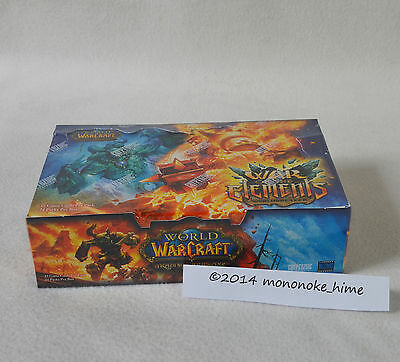WoW -  War of the Elements Display - World of Warcraft TCG - Loot Chance OVP