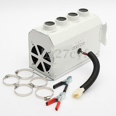 300W DC 12V Car PTC Heater Thermostat 80°C Vehicle Fan Defroster Demister Tool