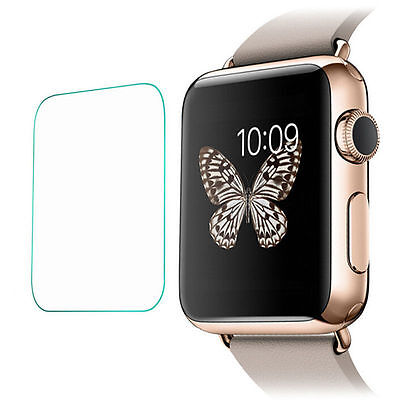 2 x Quality Tempered Glass Screen Protector For Apple Watch 38mm