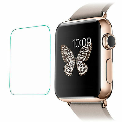 2 x Quality Tempered Glass Screen Protector ForApple iWatch 38mm