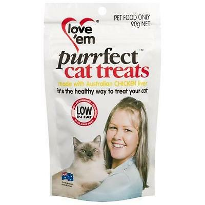 Love em Purrfect Chicken Cat Treats 90gm