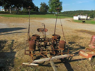 Antique 2 Row Horse/Mule Drawn Corn Planter #1857