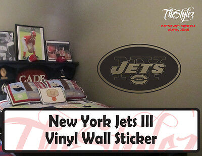 New York Jets Logo III Vinyl Wall Sticker