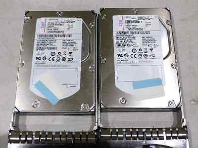Lot Of 2* Ibm Eserver St373455Ss 73.4Gb Hard Drives 9Z3066-039 15K Rpm Sas Hdd
