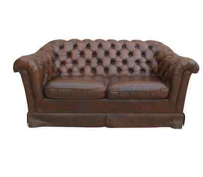 English Chesterfield Sofa Vintage Couch Vintage Furniture