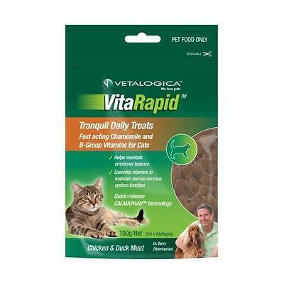 VitaRapid Cat Tranquil Treat 100g