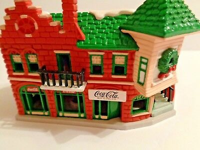 1991 Early Coca-Cola Bottling Co. Ornament Trim A Tree Collection in Box