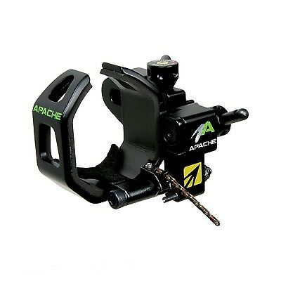 New NAP Apache Drop Away Arrow Rest Right Hand Black New Archery Products 60-893