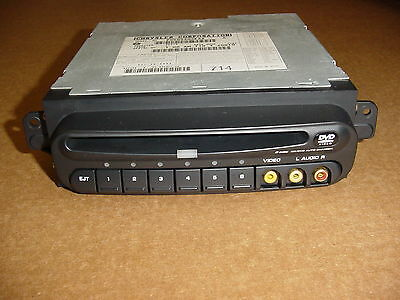 02-07 Dodge Caravan Voyager Town & Country 6-Disc DVD Changer Video p05094033AA