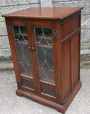 Old Charm Oak Hi Fi/ Drinks Bar Printer Cabinet- Delivery Service Available