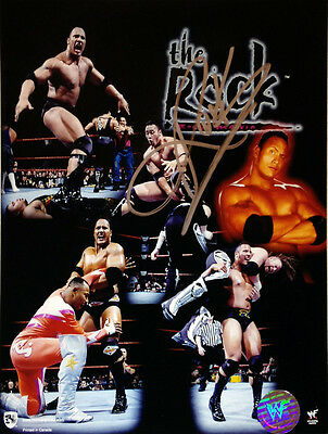 Autographed Wrestling Champion - The Rock