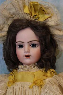 22 inch Antique French Bisque Bru Jne R Doll  labeled box, Antique Clothes
