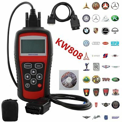 KW808 OBD2 Professional Car Diagnostic Tool Engine Auto Code Reader Scanner Tool