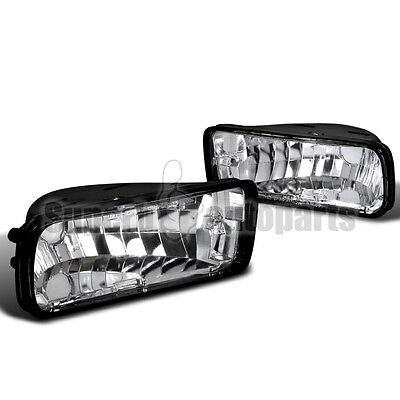 1985-1992 Chevy Camaro Front Bumper Lights Signal Lamps Clear Depo