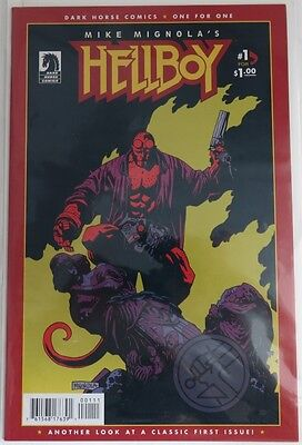 2010 Hellboy One For One #1 -  Nm                (Inv4056)