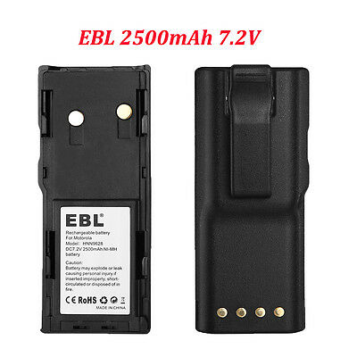 2500mAh 7.2V HNN9628 Ni-MH Battery for MOTOROLA GP88 GP600 GP300 GTX800 PTX600