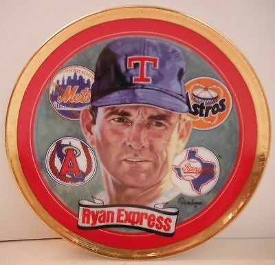 Nolan Ryan The Ryan Express Hamilton Plate Collection