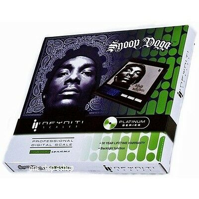 Snoop Dogg New Platinum Series Professional  Digital Cd Scale 100G Capacity
