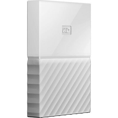 WD My Passport WDBYFT0020BWT-WESN 2 TB External Hard Drive - Portable