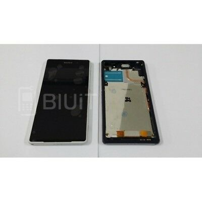 Touch Screen Lcd Display With Frame White Sony Xperia D6502 D6503 Z2 Spare Parts