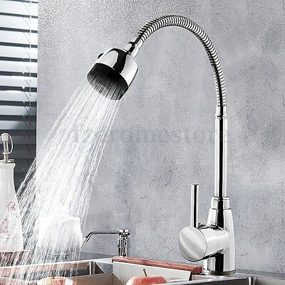 360° Flexible Hot & Cold Faucet Zinc Alloy Taps Water Outlet Kitchen Wash Basin