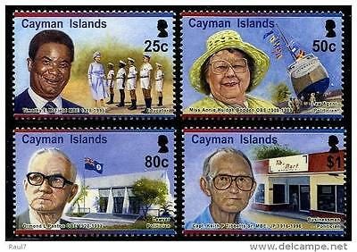 Cayman Islands 2015 Pioneers MNH