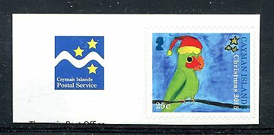 Cayman Islands 2015 Christmas Self adhesive booklet stamp MNH