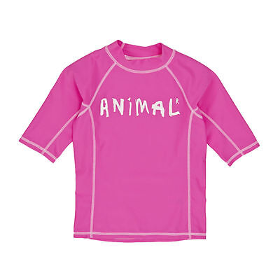 Animal Rash Vests - Animal Molly Mermaid Short Sleeve Rash Vest - Lily Pink