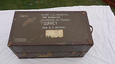 Officers Military Campaign Dressing Chest