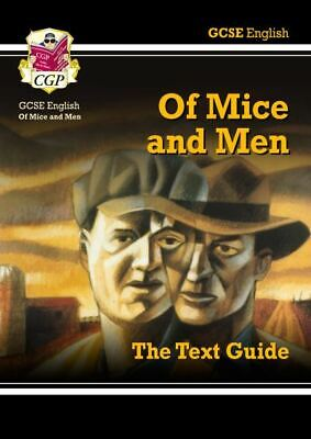 GCSE English: Of mice and men: the text guide. by Charley Darbishire (Hardback)