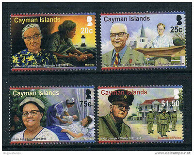 Cayman Islands 2011 Pioneers MNH