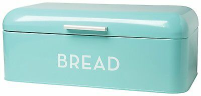 Now Designs Bread Bin, Turquoise Blue