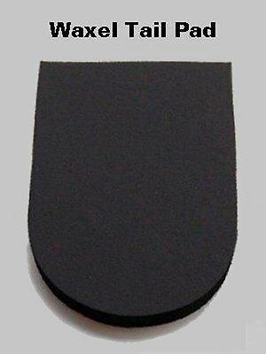"""Waxel 1/2"""" Thick SMALL High Impact Tailbone Pad - GREAT PROTECTION!"""