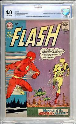 Flash # 139  1st appearance of Professor Zoom !  CBCS 4.0 scarce book !