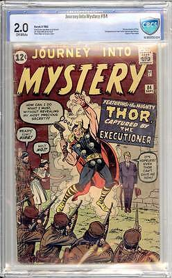 Journey into Mystery # 84  2nd appearance of Thor !  CBCS 2.0 scarce book !
