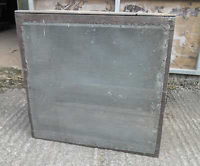 Vintage Pine and Zinc Gauze Meat Safe for reburbishment