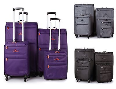 Super Lightweight Lightest 4 Wheel Spinner Suitcase Trolley Cases Luggage