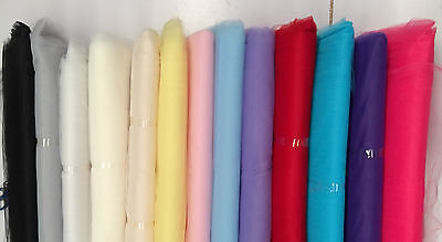 Beautiful Soft Net Tulle Fabric : 140Cm Wide : $4.50 Per Metre