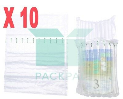 10 X Column Air (10 columns) inflatable packaging bag for baby formula