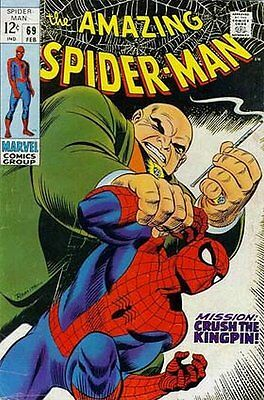 Amazing Spider-Man (Vol 1) #  69 Fine (FN) Marvel Comics SILVER AGE