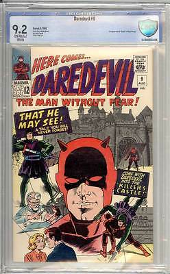 Daredevil # 9  That He May See - Wally Wood art !  grade 9.2 scarce book !