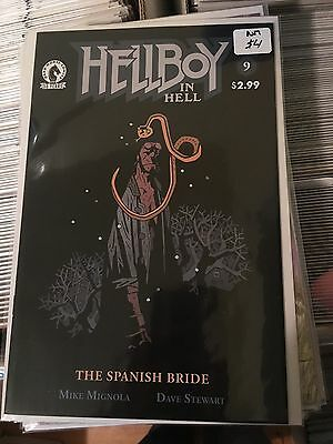HELLBOY IN HELL #9 NM st Print Mike Mignola Comic