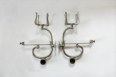 antique bathroom shelf brackets | towel cup holder bar victorian art deco vtg