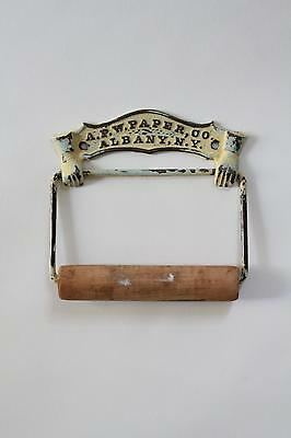antique toilet paper holder | apw paper co vtg deco bath victorian toilet tissue