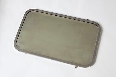 antique bathroom mirror brasscrafters | art deco bath vtg brass beveled glass