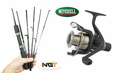 Mitchell Carbon Travel rod & reel combo -very compact only 33.5cm long