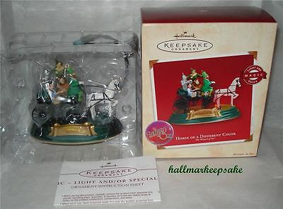 2002 Hallmark Keepsake Ornament WIZARD OF OZ HORSE OF A DIFFERENT COLOR MAGIC