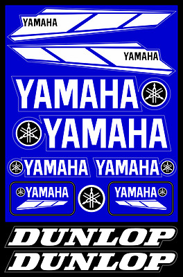 Yamaha motorcycle decals stickers graphic set vinyl logo aufkleber adesivi #1